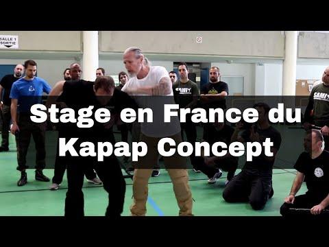 SAMI - 1er Stage En France Du Kapap Concept (Peter Weckauf)