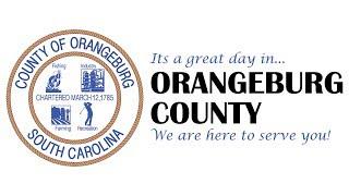 ORANGEBURG COUNTY COUNCIL - MONDAY, APRIL 2nd, 2018