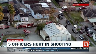 بالفيديو.. إصابة 3 من عناصر الشرطة الأمريكية بحادثة إطلاق نار في تكساس