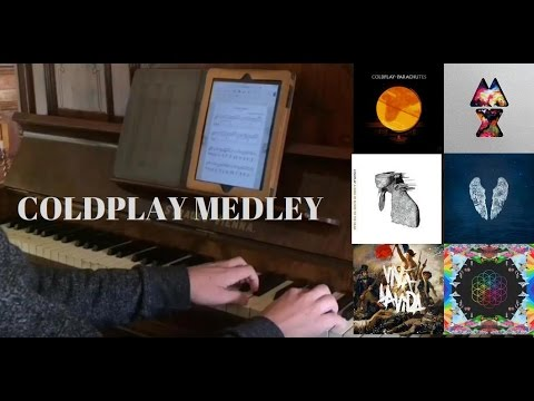 Best of Coldplay Piano Medley (16 Songs from 6 Album) + Free Sheets