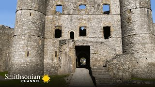 Why Wales is the Place to Go for Medieval Castles  Aerial Britain | Smithsonian Channel