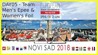 European Championships 2018 Novi Sad Day05 Piste 8
