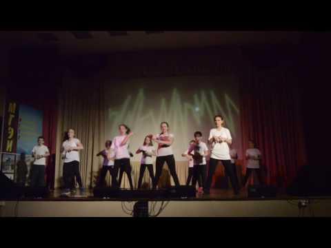 Новогодний концерт школы танцев