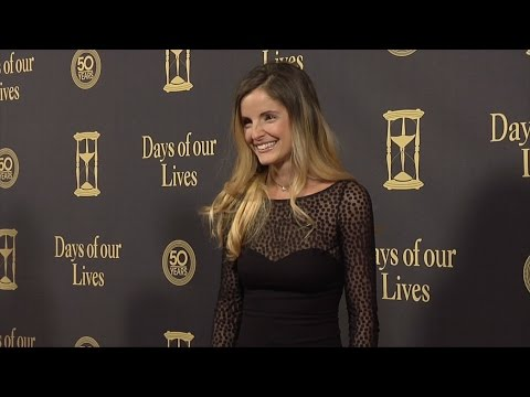Alexis Thorpe Red Carpet Style at Days of Our Lives 50 Anniversary Party