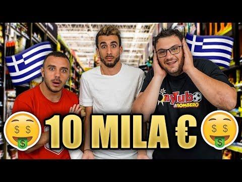 😱 SIAMO in GRECIA!  💵 10 MILA EURO di SPESA con TONY TUBO e FIUS GAMER! | VLOG a MYKONOS 🇬🇷