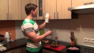 Как приготовить курицу (вкусно и легко!). Видео с кухни.(Собираем 1000 репостов/3000 лайков за супер видео: http://vk.cc/4UOFar Программа тренировок и питания (М): https://yadi.sk/d/1xmT5tjQpy..., 2014-01-27T16:55:28.000Z)