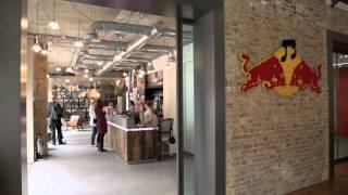 Redbull's Office Design