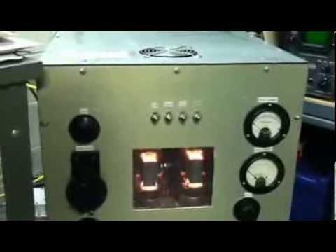2 X 813 AMPLIFIER, 872A MERCURY VAPOR RECTIFIERS - KF8OD