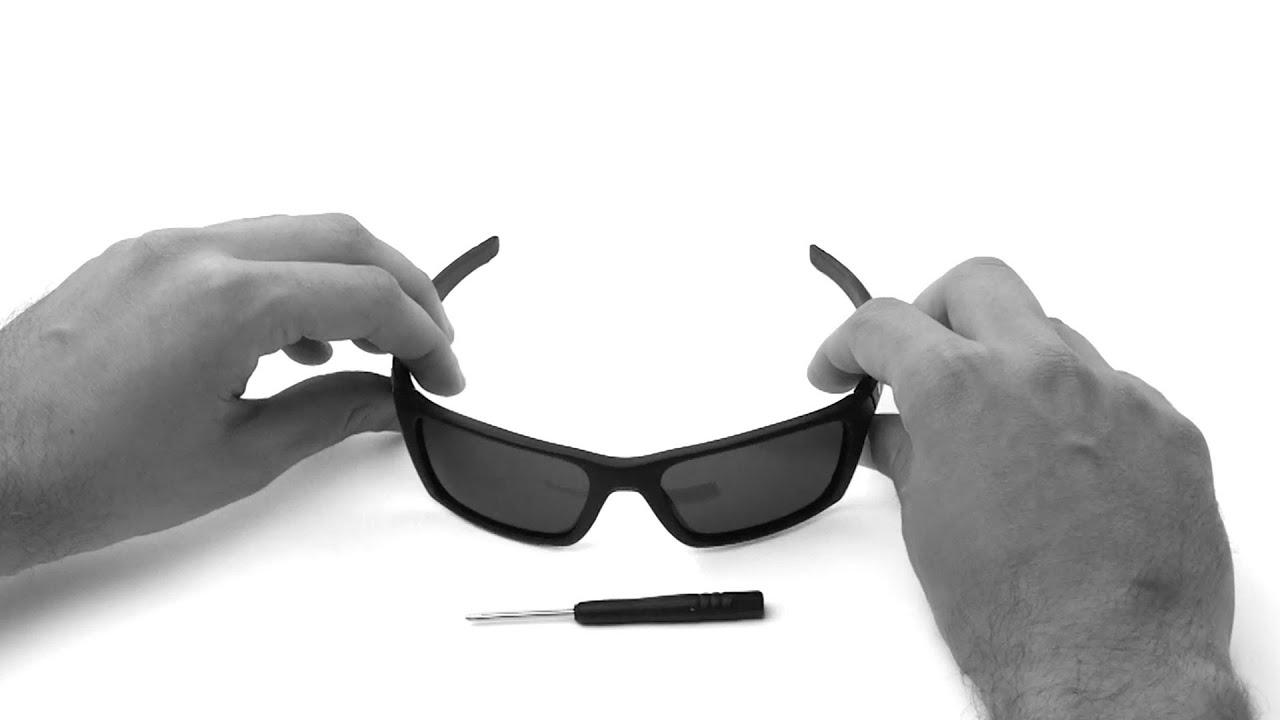 de2b2496e1 Oakley Jury Lens Replacement   Installation Instructions - YouTube