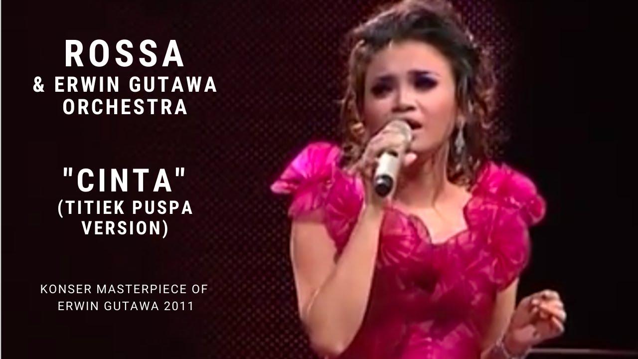 Lirik Lagu Rossa -  Cinta (Tribute to Titiek Puspa)  2020
