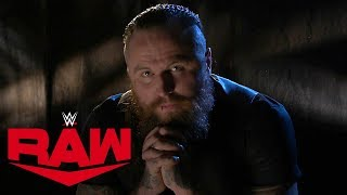 Aleister Black's sins and secrets: Raw, Nov. 11, 2019