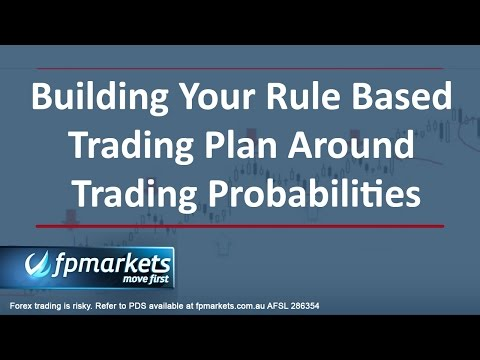 Trading Masterclass - Building a Rule Based Trading Plan Around Trading Probabilities