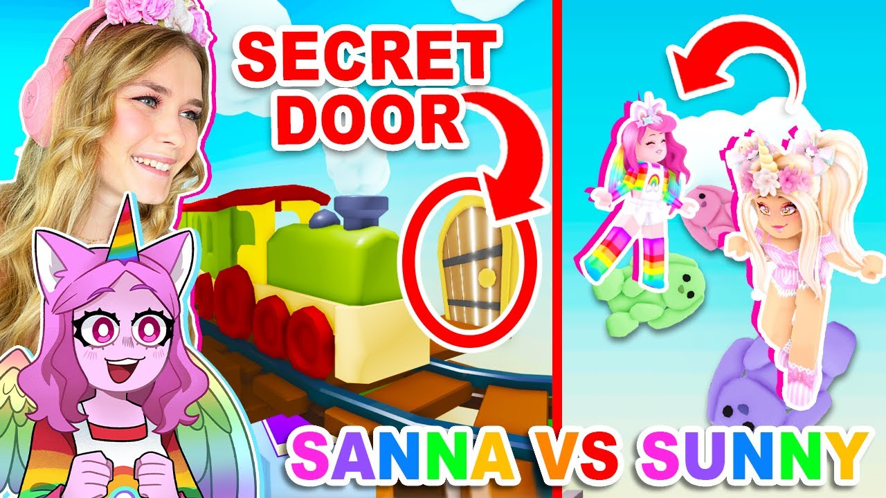 SANNA Vs SUNNY Toy Shop Obby In Adopt Me! (Roblox)
