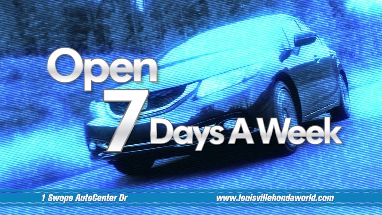 Honda Dealership Louisville >> Why Buy From Honda World of Louisville? - YouTube