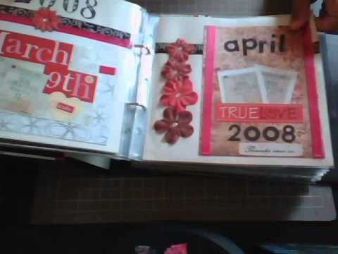 My very first scrapbook album of my husband and i youtube