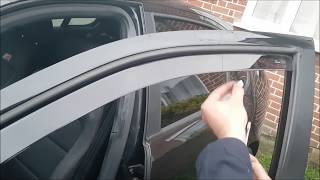 Team Heko Wind Deflectors Install & Review - Seat / VW / Audi / Skoda (or any car)