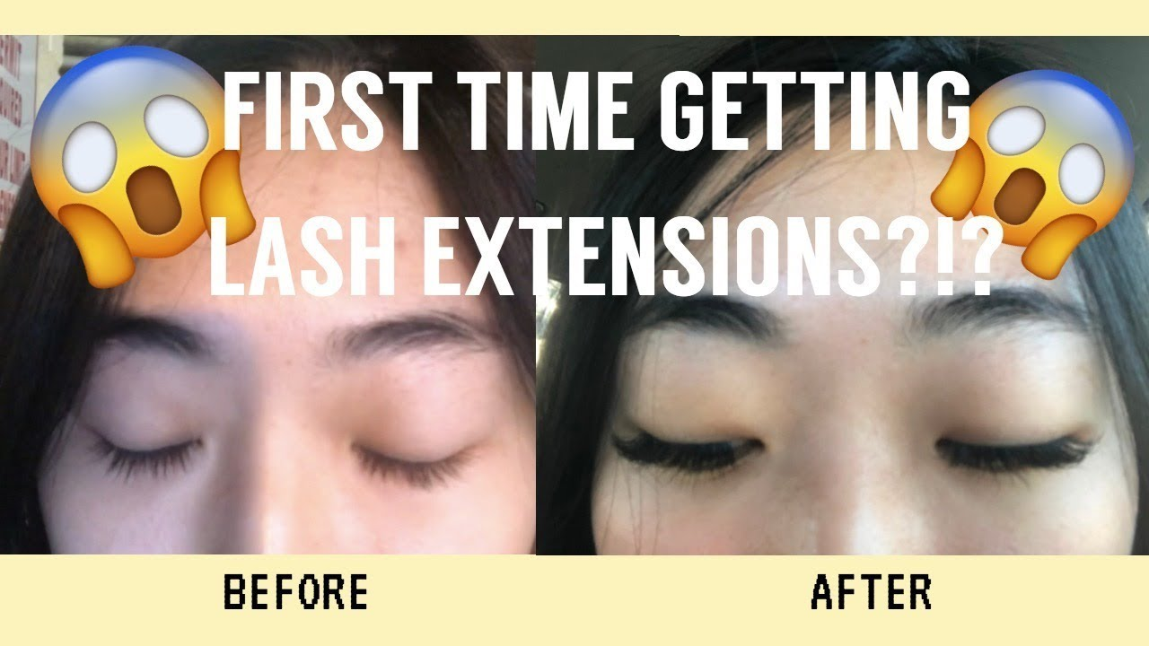 043a3daa74e GETTING EYELASH EXTENSIONS FOR THE FIRST TIME (MONOLIDS) - YouTube