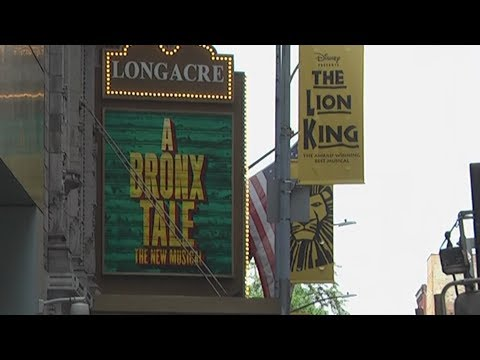 The Longacre Theatre On Broadway At 220 West 48th Street, New York
