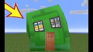 SLİME'nin İÇİNDE YAŞAMAK - Minecraft