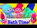 TROLLS BATH & MAKEOVER! Trolls Movie Poppy, Branch & Guy Diamond Use New Shower Gel & Get Beados Spa