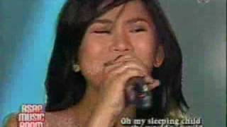 sarah geronimo- sleeping child