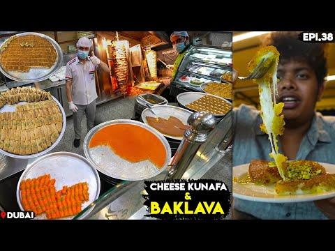 Cheese Kunafa & Beef Shawarma - Street Food of Dubai - Irfan's View