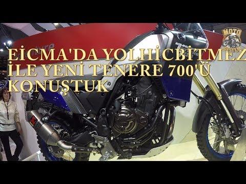 Eicma fuarında yeni Yamaha Tenere &#;ü yolhicbitmez ile konuştuk