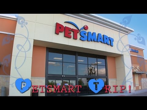 My trip to PetSmart!