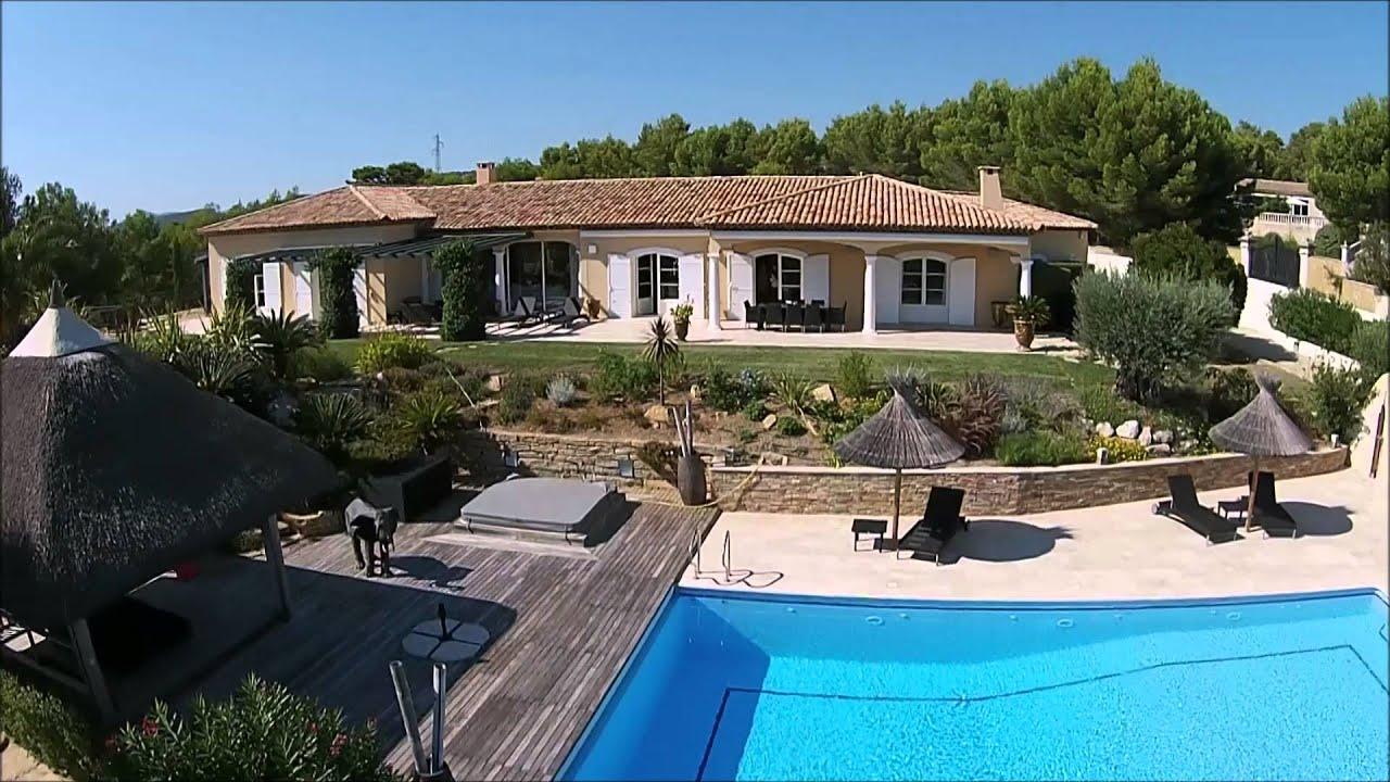 ladite immo com a vendre villa luxueuse cassis bandol sanary youtube