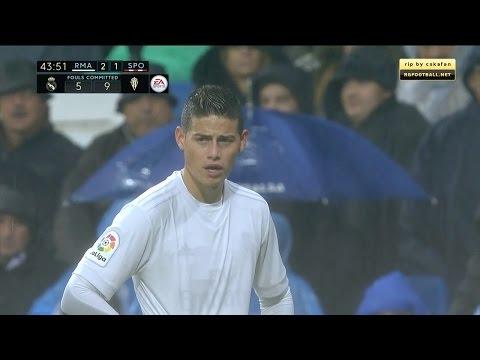 James Rodriguez vs Sporting Gijon Home HD (26/11/2016) by JamesR10™