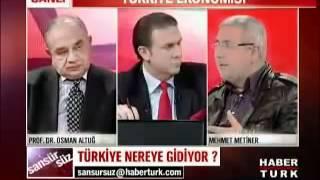 Prof.Dr.Osman Altuğ - Kayıtdışı Ekonomi - İşsizlik -2-