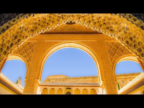 A Walk Through The Nasrid Palaces of the Alhambra, Granada, Spain