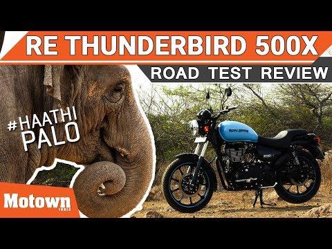 Royal Enfield Thunderbird 500X Haathi Palo!