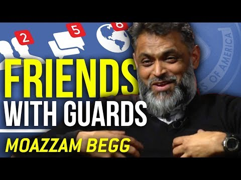 GUANTANAMO BAY GUARDS BECAME MY FRIENDS - Moazzam Begg