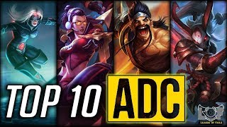 Top 10 Best ADC Champions   LOL Epic ADC Plays Montage 2017 - HightLIghtTV
