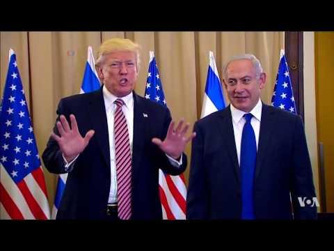 In Israel, Trump Touts Peace, Slams Iran