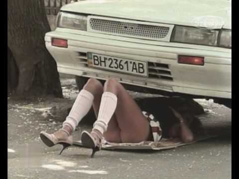 Nude And Funny   Car Trouble