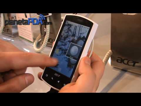 Acer Liquid e Android 2.1 Hands on