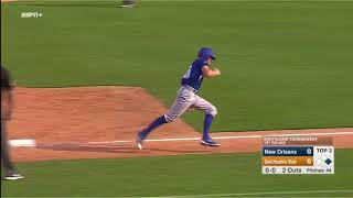 Orynn Veillon Double to Give UNO 1-0 Lead 5-23-18