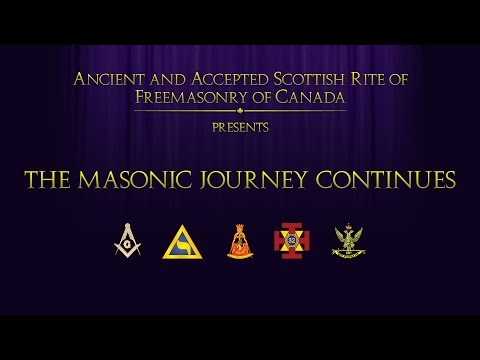 Scottish Rite: The Masonic Journey Continues