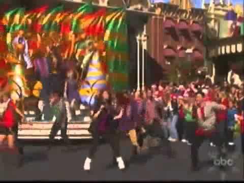 Debby Ryan - Deck The Halls - LIVE Disney Christmas Parade 2010