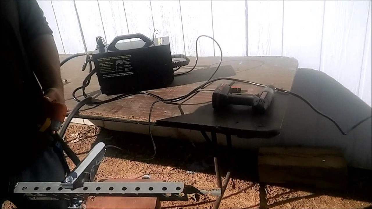 Set Up And Testing 40 Amp Harbor Freight Plasma Cutter Youtube Welding Inverter Circuit Diagram