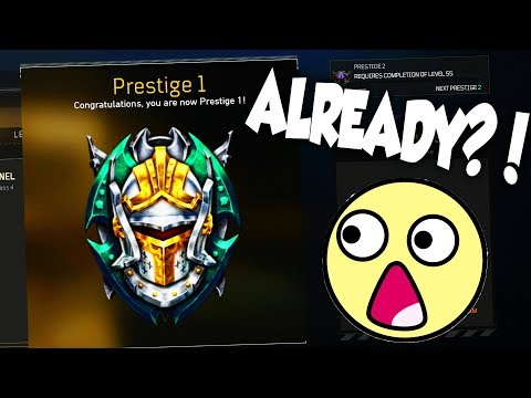 1ST PRESTIGE ALREADY... 😱 (Black Ops 4)