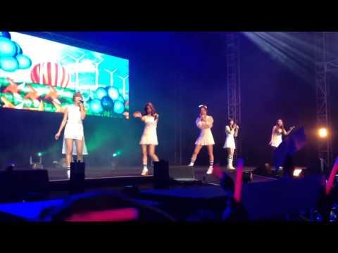 080814 A Pink - Sunday Monday (Live in Jakarta)