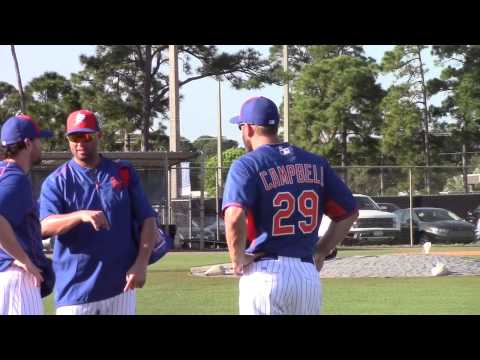 2015 New York Mets Spring Training Workouts