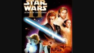 "End Credits Music from the movie ""Star Wars Episode II Attack of the Clones"""