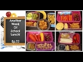 Another Exciting Week of School Lunches + What She Ate!