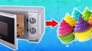Как сделать Кекс в микроволновке за 3 минуты. Простой Недорогой рецепт