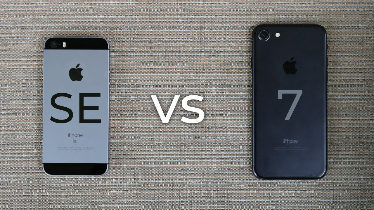 iphone se vs iphone 7 which should you buy 2019 comparison youtube iphone se vs iphone 7 which should you buy 2019 comparison