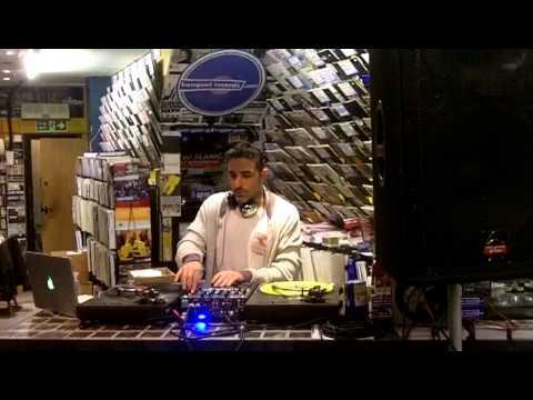 DJ Yoda Instore At Banquet Records - Nov 2012
